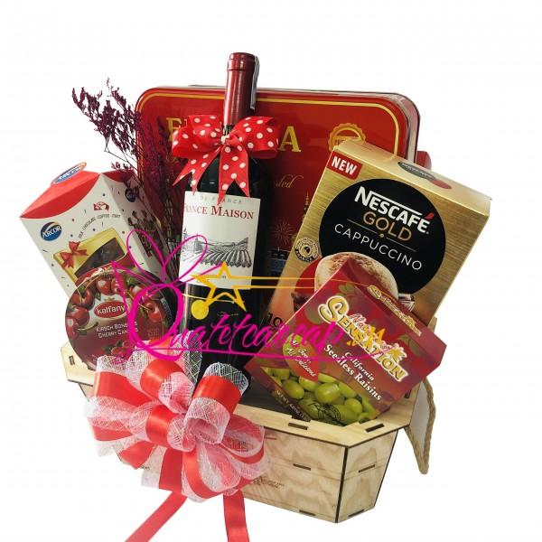 Những lí do bạn nên mua giỏ quà tết rượu vang ?