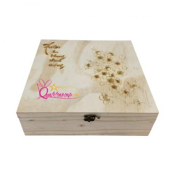 """""""Ngộp thở"""" với 5 mẫu hộp quà tết gỗ độc đáo, ấn tượng"""
