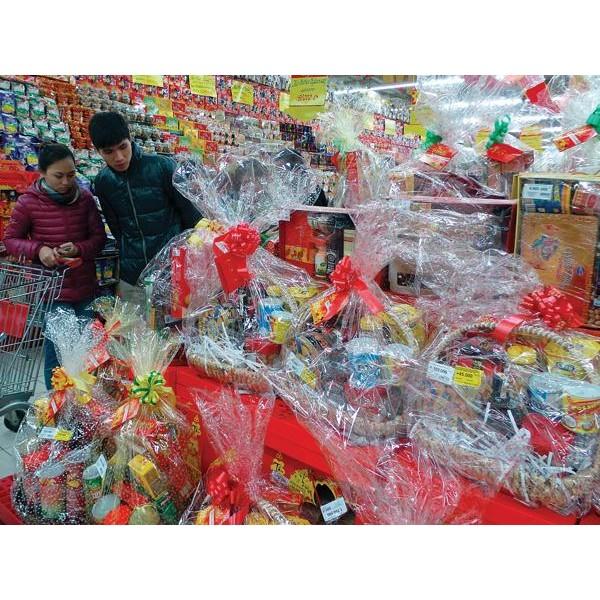 TOP 3 địa chỉ cung cấp giỏ quà tết giá rẻ tại TPHCM